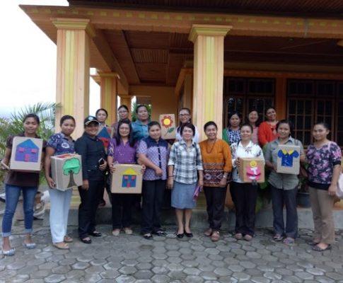 Pelatihan untuk Pelatih Guru PAUD PERISAI bahasa Sedoa dan Rampi